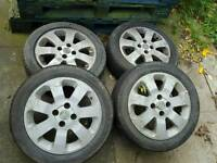 Vauxhall sxi alloys