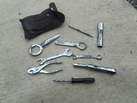 Suzuki GSXR Tool Kit Breaking Parts K2 2002 17,000 miles £20 Anglesey Tel 07870516938