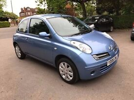 2006 NISSAN MICRA SVE 1.4 AUTOMATIC, FULL HISTORY HPI CLEAR FINANCE ZERO DEPOSIT £114 X 24 MONTHS