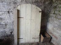 Antique small door