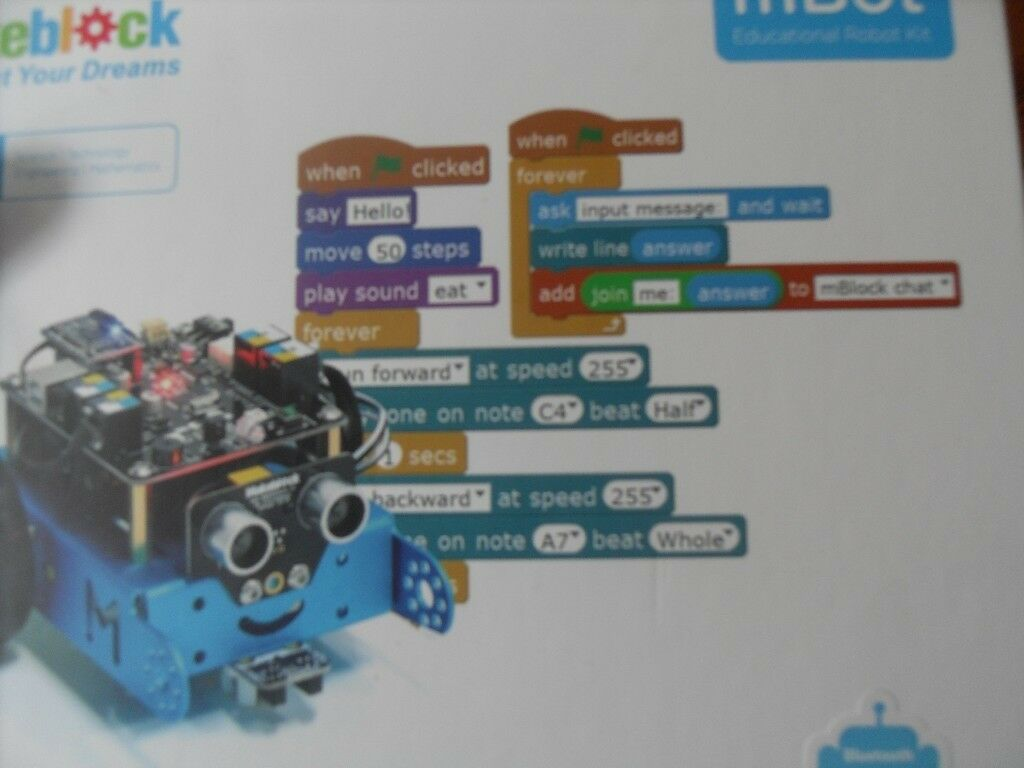 mBot educational robot kit make and program your own robot with bluetooth |  in Partington, Manchester | Gumtree