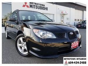 2006 Subaru Impreza 2.5 i; Local BC vehicle! LOW KMS!