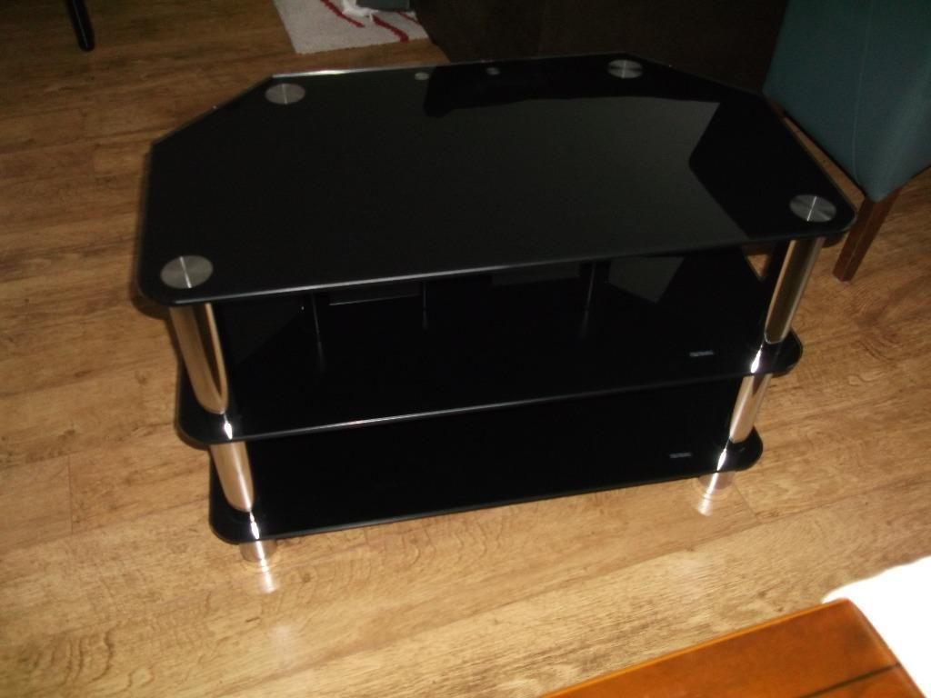 MEDIA UNIT BLACK GLASS amp CHROME in Northampton  : 86 from gumtree.com size 1024 x 768 jpeg 58kB