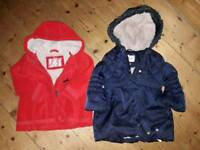 Girls winter coats age 2