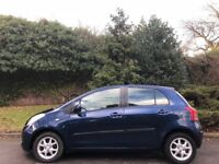 TOYOTA YARIS AUTOMATIC,07 REG, 45K MILES, MOT, FSH, 5 DOOR, DELIVERY AVAILABLE, DRIVES MINT