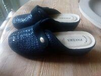 Pair of Pavers Anatomic Mules Black Size 38 (5) Hardly worn