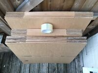 25 x cardboard boxes, moving pack, removal box