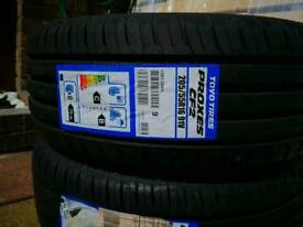 Toyo brand new two tyre