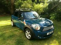 Surf blue MINI COUNTRYMAN Diesel
