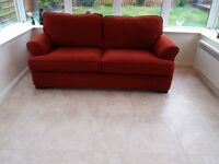Sofa Double bed settee Excellent condition . Occasional use only. Buyer uplifts