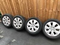 Set of Alloy wheels audi