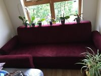 3 seater sofa & bed
