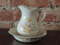 Crockery white and cream set (Delivery)