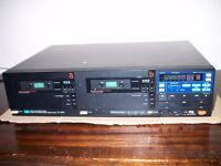 Twin Tape Deck For Parts