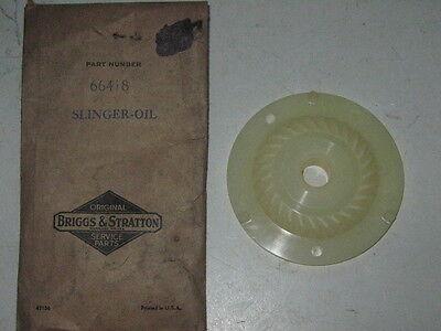 Genuine Old Briggs Stratton Gas Engine Oil Slinger 66418 Nos