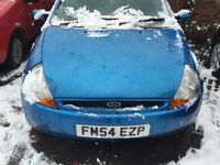 FORD KA 1.3 STYLE 54 REG MOT MAY 3RD 2018 SPARES OR REPAIRS WILL NOT START TOW AWAY