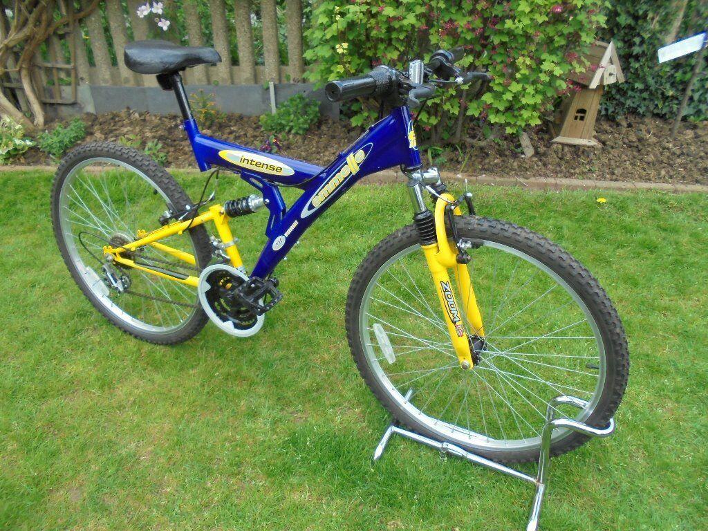 Emmelle Intense Mountain Bike Full Suspension 18 Gear Mountain