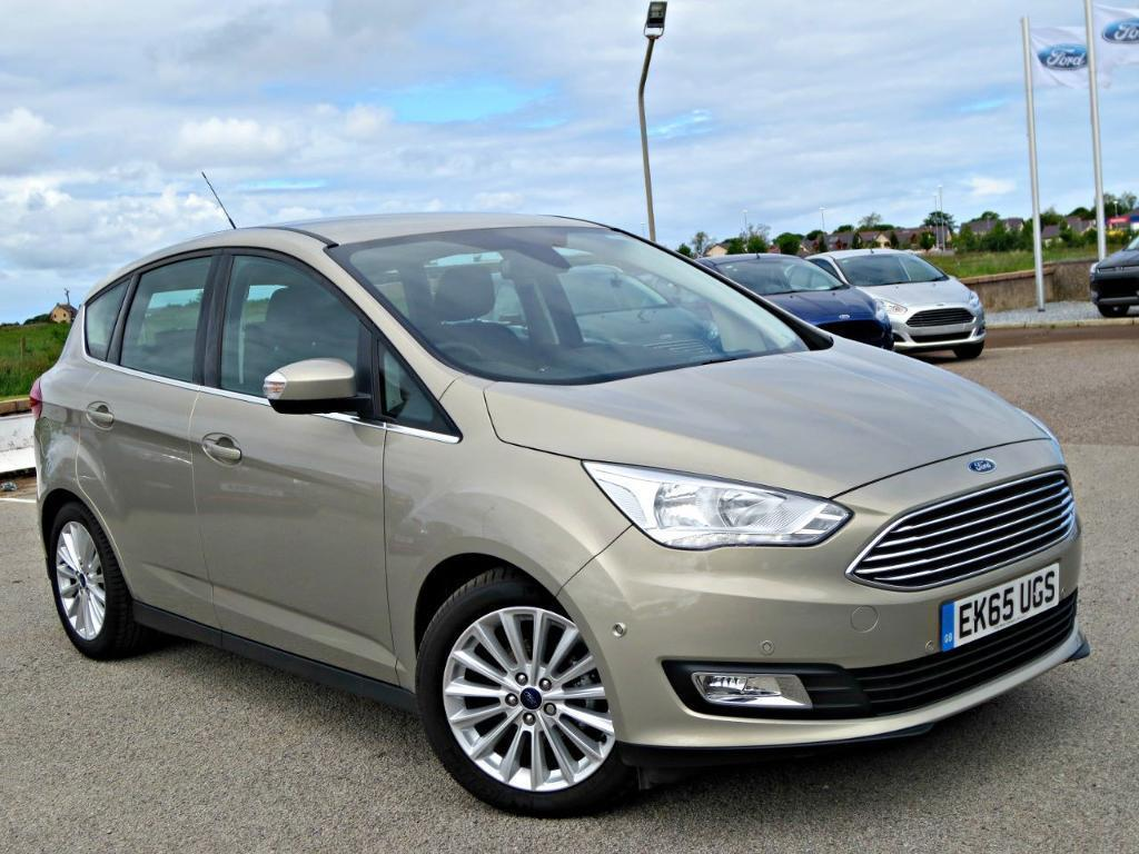 Ford C-MAX 1.5 TDCi Titanium (120ps) 5dr (tectonic silver) 2015 | in ...