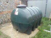 Envirostore 2500 litre heating oil tank