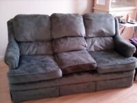 Nice Green 3 Seater Sofa. Very good condition hardly any ware .