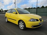 2006 SEAT IBIZA 1.4 SPORT - 5 DOOR - LOW MILEAGE - SERVICE HISTORY - PX WELCOME