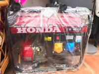 Honda generator em4500 (brand new)