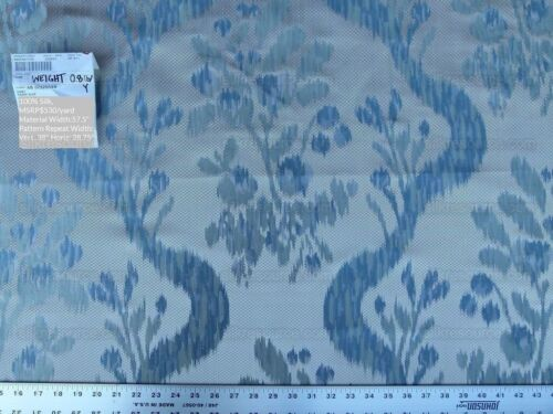 Scalamandre VISBY TAHOE BLUE FROM OLD WORLD WEAVERS 100% SILK MSRP$530/YD