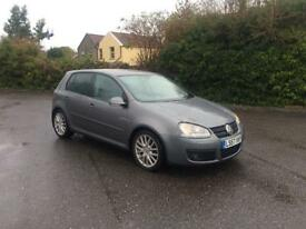 Very reliable Golf gt tsi, 1.4 auto new mot low miles