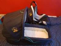 Baby car seat +carry cot
