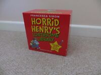 New Horrid Henry's Loathsome Library Book box set - RRP £147.70