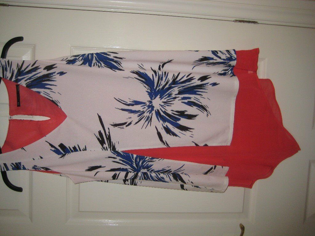 NEW UNUSUAL TOP - CDI CREATIVE DESIGNS - SIZE 16 - (Kirkby in Ashfield)...