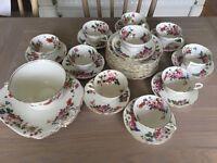 Old English Grosvenor China Tea Set