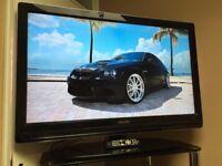 "PHILIPS 42"" FHD 1080p Digital freeview TV - 3 HDMI - Ambi light - Sub woofer - PC Bargain RRP £489"