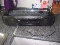 Sanyo radio and tape player