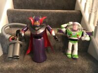 Buzz light year and Zurg