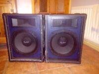 X2 200watt 12inch speakers