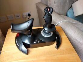 Thrustmaster T-Flight Hotas X Joystick (PC/PS3) - Joystick for playing flight sims