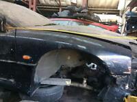 mitsubishi gto twin turbo v6 black breaking all parts available coilovers recaros body kit etc