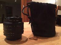 Nikon AF Nikkor 50mm 1:1.8 D lens