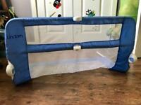 Lindam Easy Fit Bed Guard - rail in Blue.