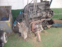 Mercedes Vito engine and box