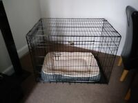 Ellie-Bo Large Dog Cage Folding and playpen for sale