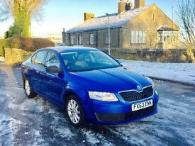 2013 63 Skoda Octavia S 1.6 Tdi Blue 5 Door Hatchback **FACELIFT** ** FULL DEALER SERVICE HISTORY**