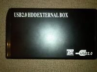 USB 2.0 HDD External hardrive box