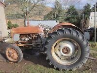 Ferguson TEF 20 Diesel Tractor Restoration Project