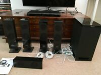 Panasonic Blu-ray Home Theatre Sound System SC-BTT590