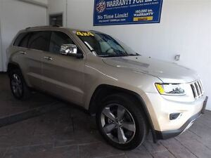 2015 Jeep Grand Cherokee LIMITED 4X4 LEATHER SUNROOF NAV