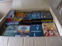Bulk job lot car boot huge DVD and CD collection, 320+ dvds, 500+ cds, multi discs, boxed sets