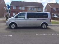 VW transporter 9 seater shuttle LWB