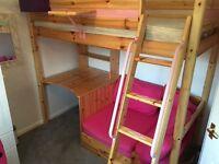 Thurka high sleeper bed